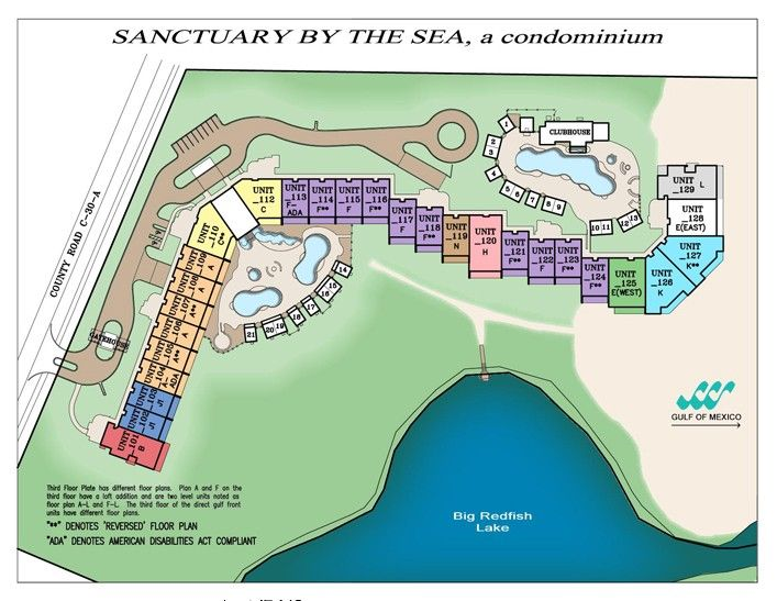 Sanctuary By the Sea Vacation Rental - VRBO 299823 - 4 BR Blue Mountain Beach Condo in FL, Sanctuary 3122/Two Master Suites/Two Balconies/Newly Updated/Beach Service