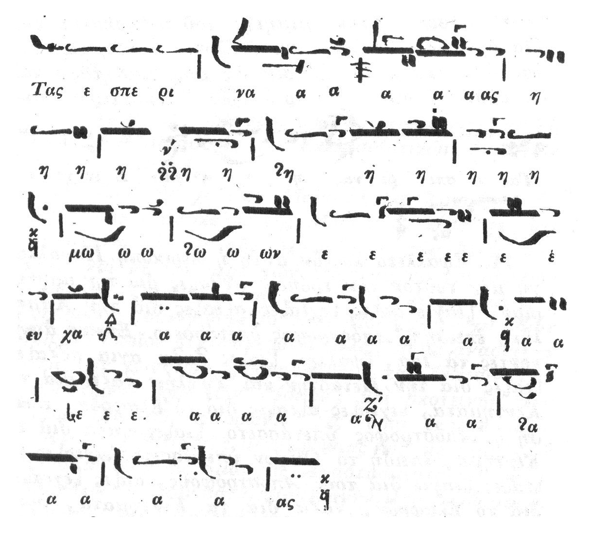An example of eastern byzantine chant notation do we want to add posts about music notation on mae mai biocorpaavc Choice Image