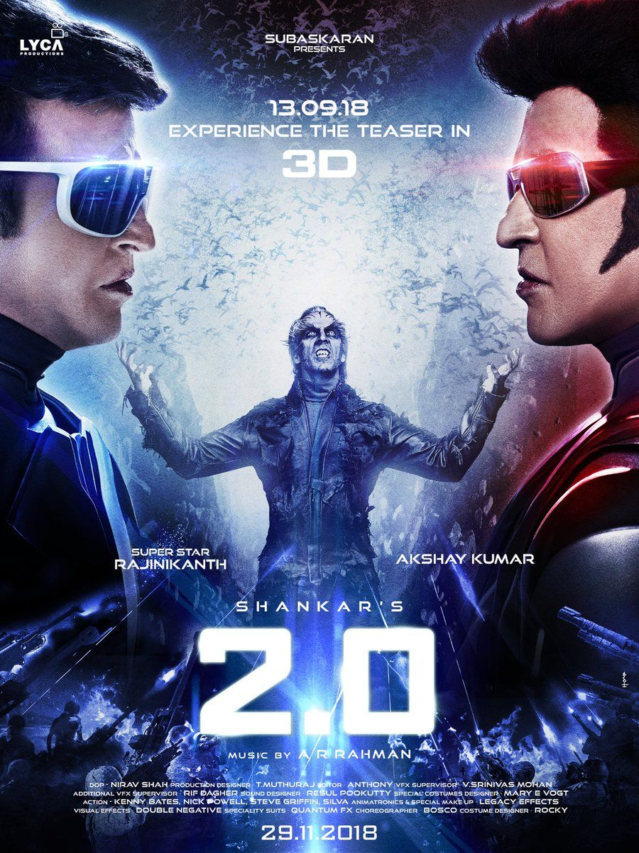 Poster, Trailer and Everything from Rajinikanth, Akshay