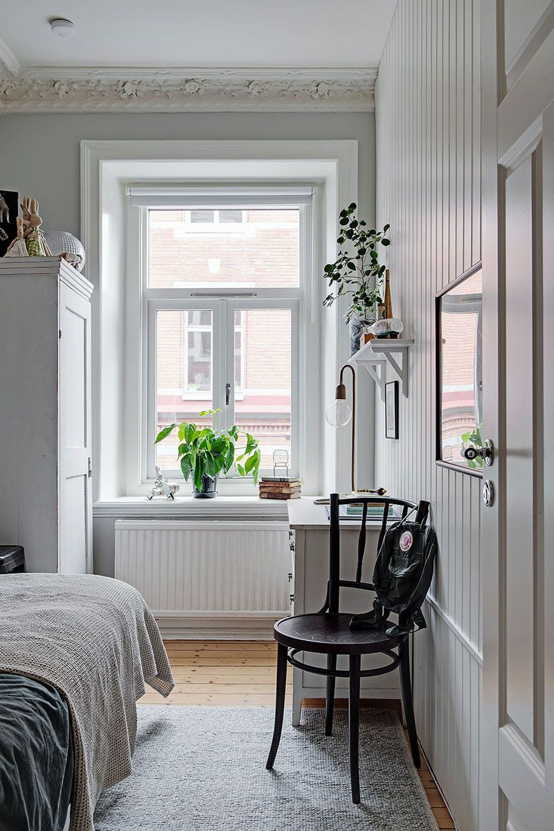 〚 Cozy Scandinavian apartment with country mood and floral motifs (51 sqm) 〛 ◾ Photos ◾ Ideas ◾ Design