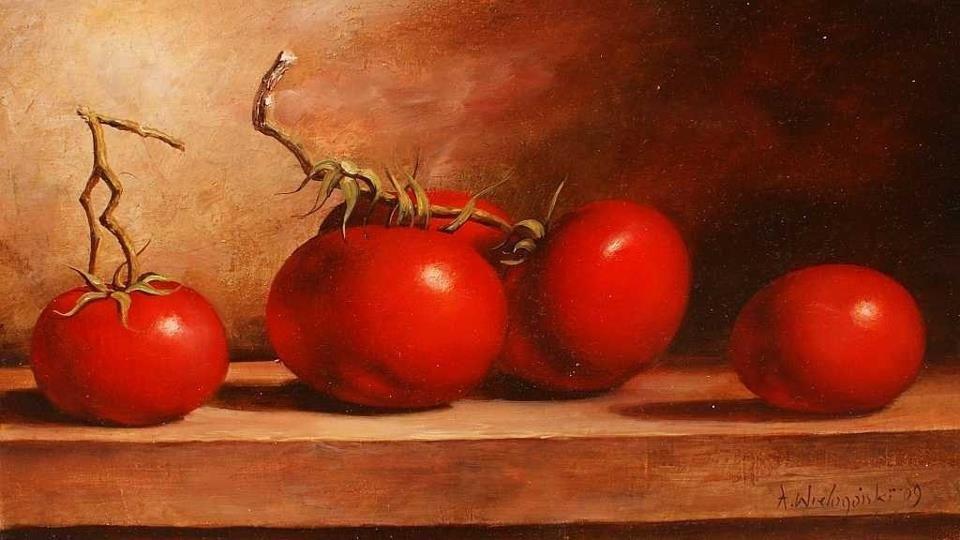 Contemporary Polish Artists Still Life Still Life Painting