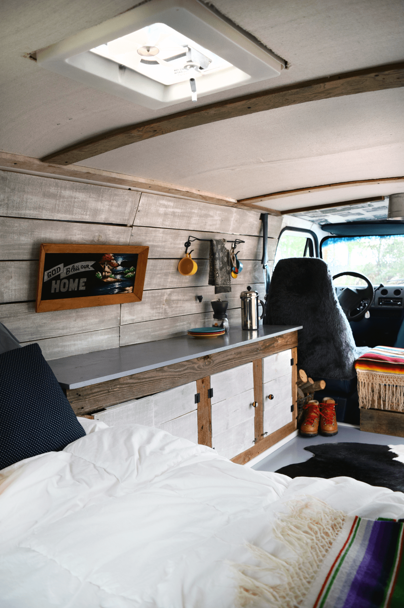 Simple Van Turned Camper Fairly Inexpensively
