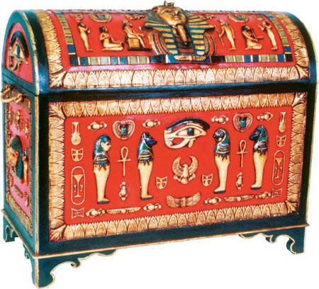 Egyptian Trunk From The Interior Gallery Saved To Statues Shop