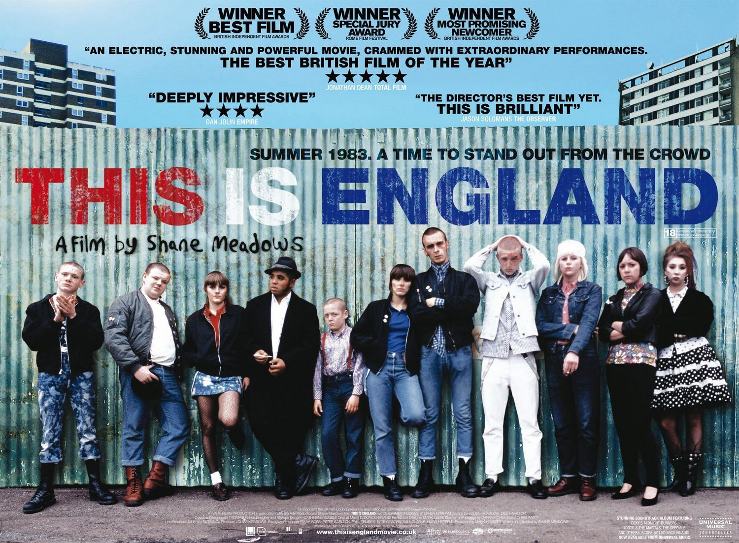 "Filme Skinhead within shane meadows film ""this is england"" is a masterpiece of the"