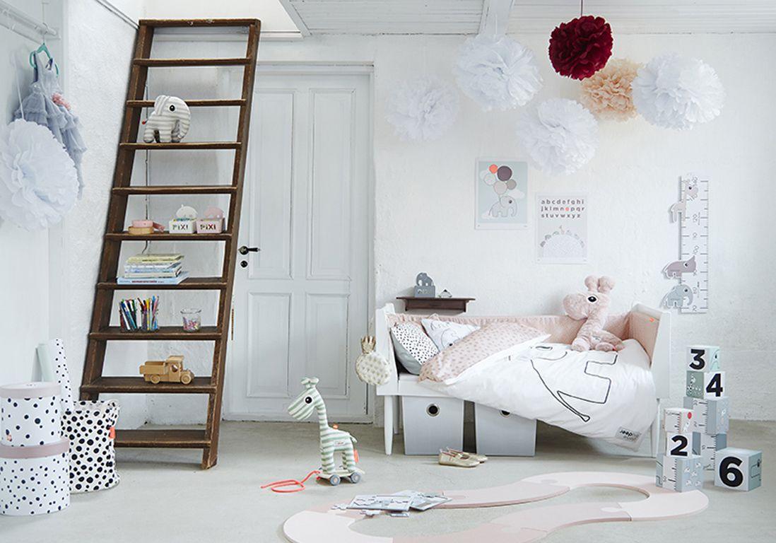 Chambre de petite fille blanche | Chambre kids | Pinterest