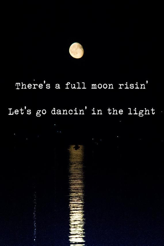 Harvest Moon - Neil Young art print, full moon, photography, sky, night, wall art, lyrics, full moon, photography, there's a full moon risin