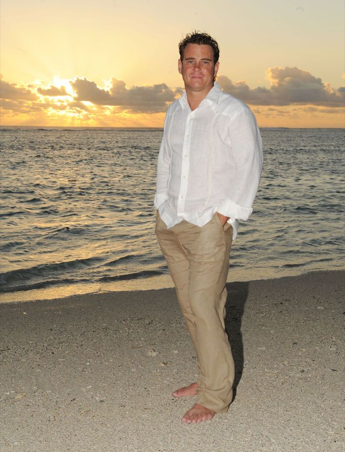 le dernier 9de77 0949e ▷ 1001 + idées | Mode Homme | Beach wedding groom, Beach ...