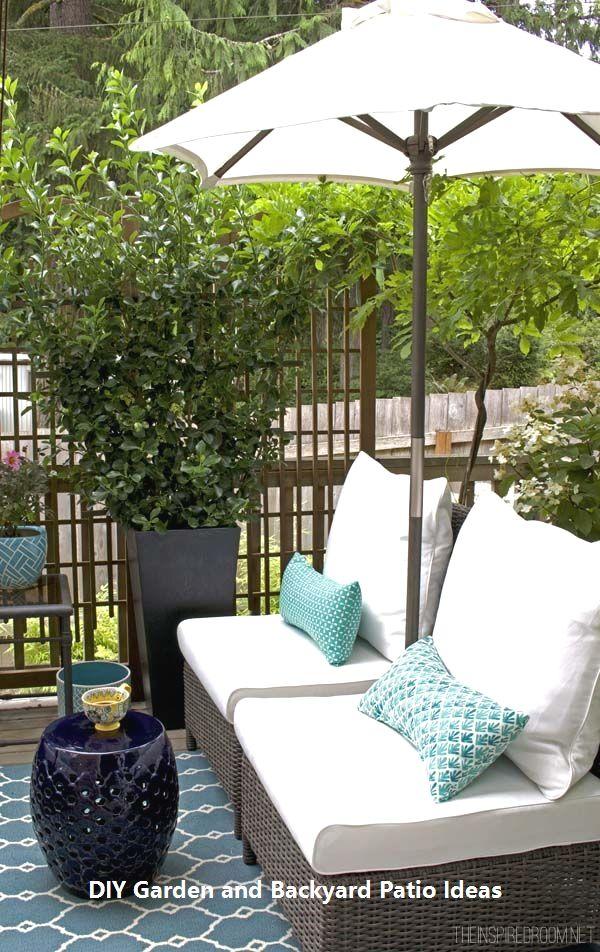 Amazingly Creative DIYs for you Patio #Garden   Small ...