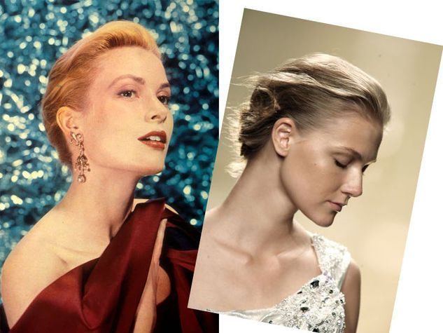 Le acconciature di Grace Kelly