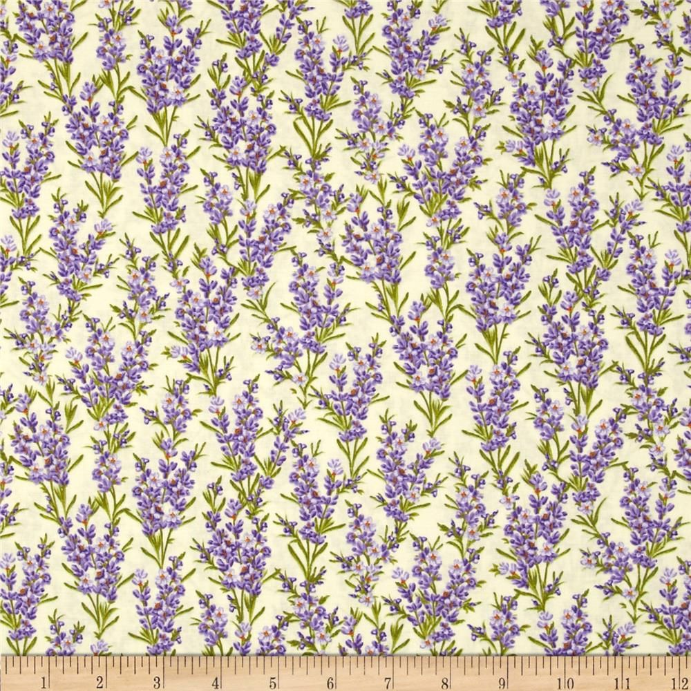 Timeless Treasures Florals Lavender Cream Timeless Treasures Printing On Fabric Orange Quilt