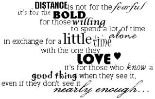 LDR (LONG DISTANCE RELATIONSHIP) | Love quotes | Quotes about love