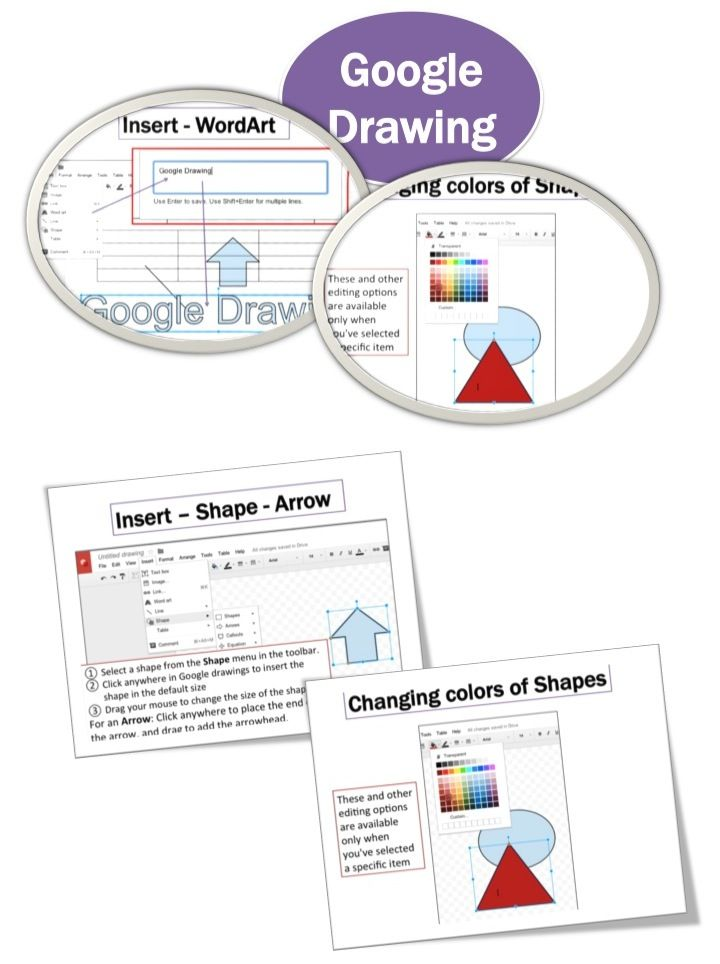 Google Drawings Lesson  Activities Teacher, Students and Google - google docs spreadsheet