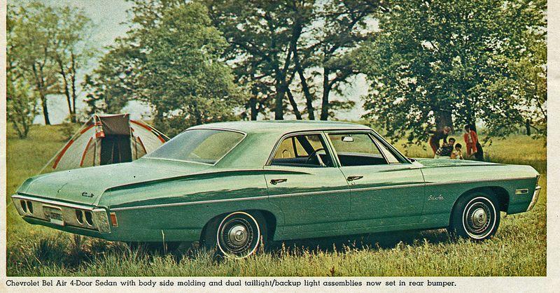 1968 Chevrolet Bel Air 4 Door Sedan