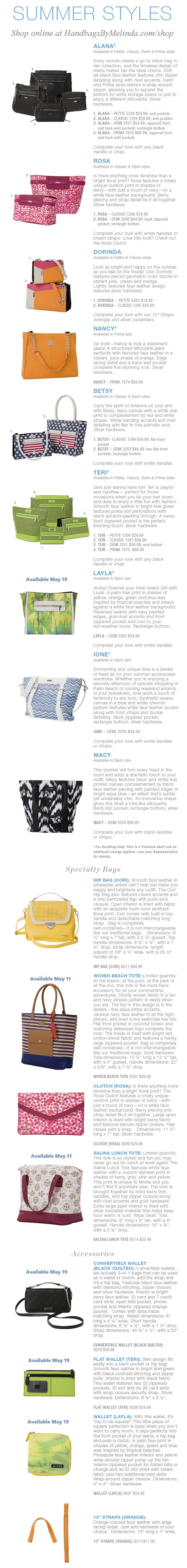 Presenting the Hot, New Miche Summer 2015 Collection! #handbags #michefashion #summerfashion