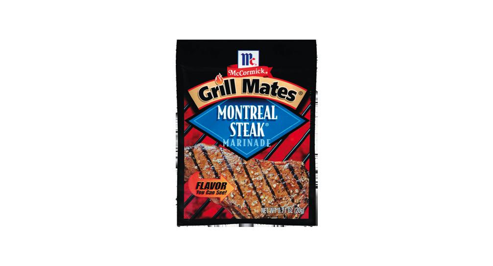 Grill Mates Montreal Steak Marinade Mccormick 1 Package Grill Mates Montreal Steak Marinade 1 4 Cup Oil 1 4 Steak Marinade Montreal Steak Marinade Marinade