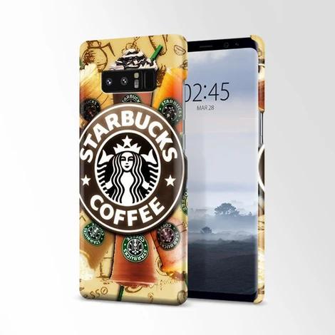 Starbucks Coffee Logo Wallpaper Samsung Galaxy Note 8 Case Casacases
