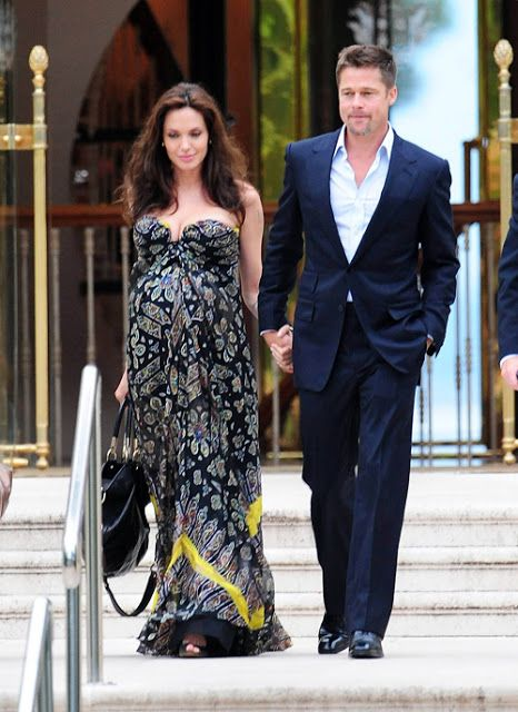 Angelina jolie om graviditeten