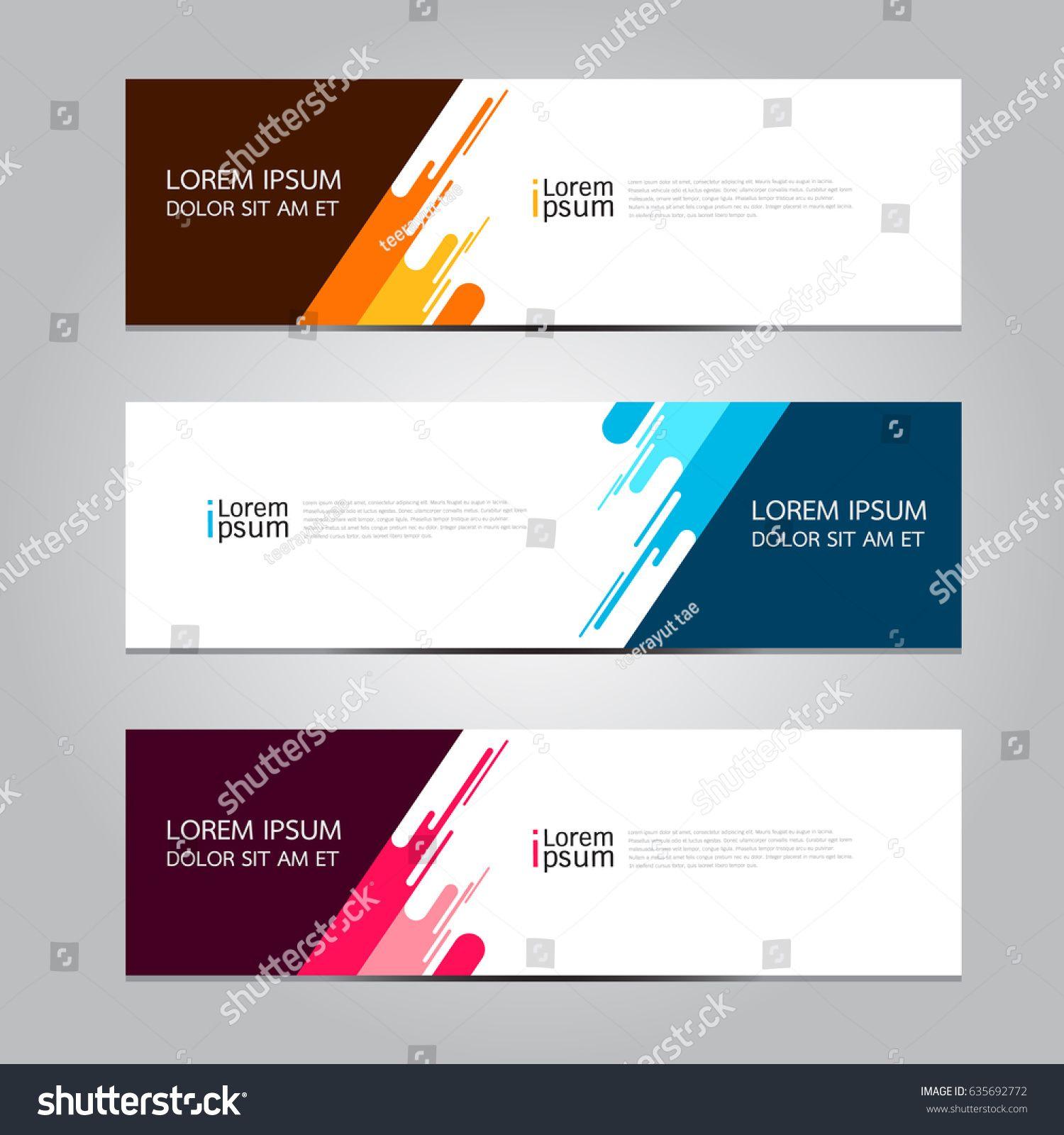 Vector Abstract Geometric Design Banner Web Template Sponsored Affiliate Geometric Abst Banner Design Inspiration Banner Design Layout Web Banner Design