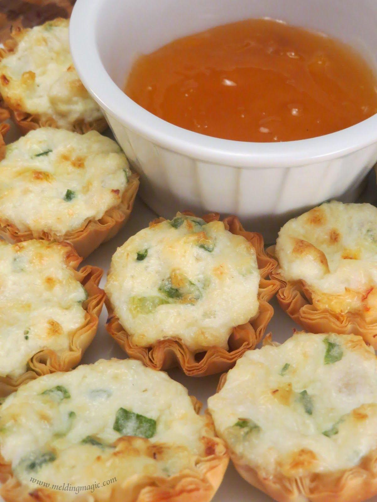 Crab rangoon bites recipe food cooking recipes