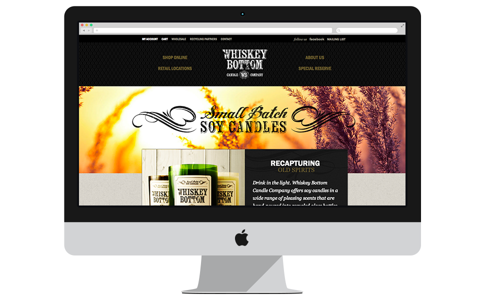 Whiskey Bottom Candles Homepage Candle Companies Whiskey Candles