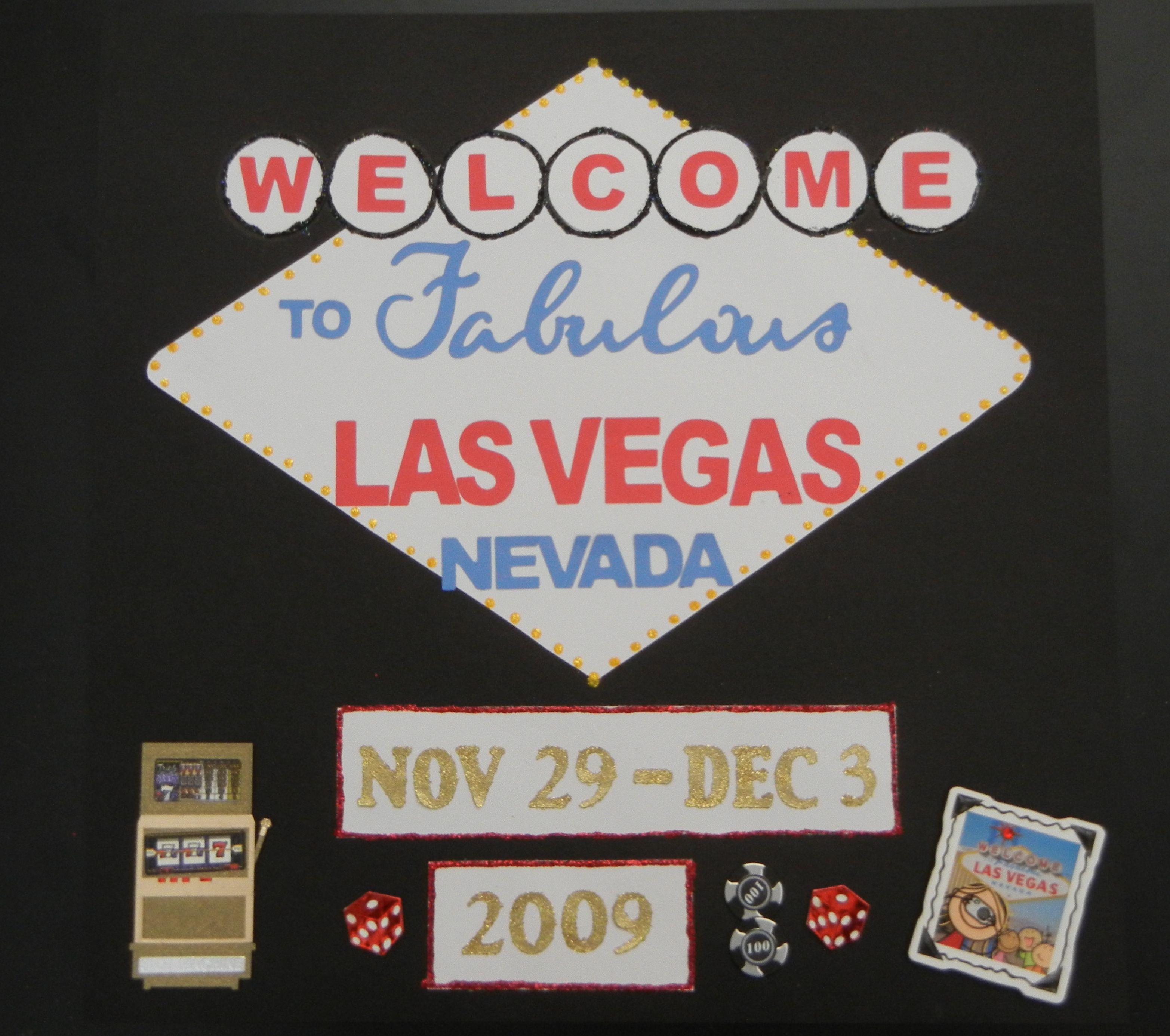 Scrapbook ideas las vegas - Welcome To Fabulous Las Vegas Scrapbook Com