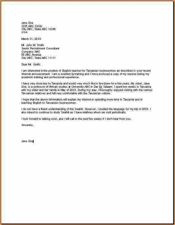 letter sampleg english sample englisha application format others effective cover for - Effective Cover Letter