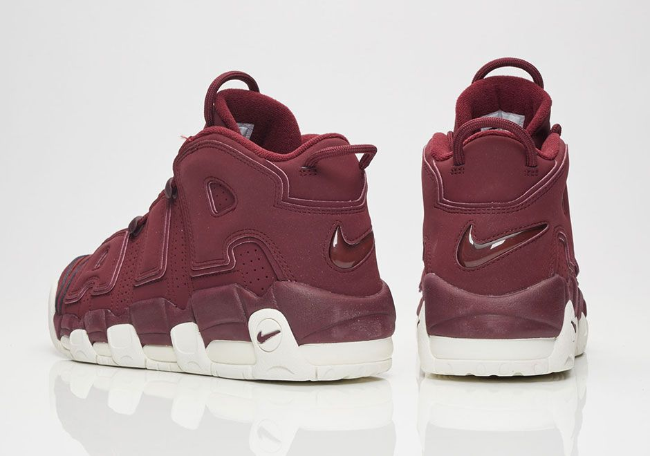 "#sneakers #news The Nike Air More Uptempo ""Dark Maroon"" Releases On May"