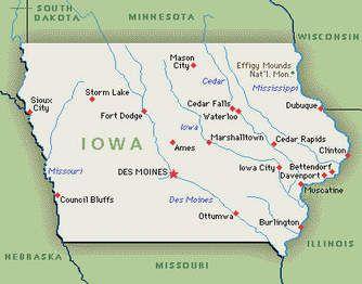 map of ottumwa iowa Map Of Iowa Myway Ottumwa Iowa Waterloo Iowa Iowa map of ottumwa iowa
