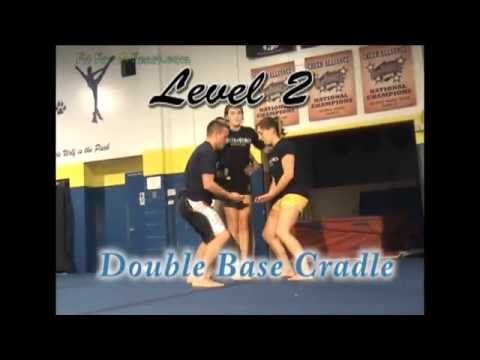 Cheerleading Stunt Videos - Cheerleading Level 1 through 5 - YouTube #cheerleadingstunting
