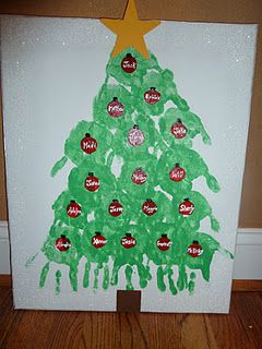Room Mom Extraordinaire Christmas Tree Party Handprint Christmas Tree Handprint Christmas School Christmas Party