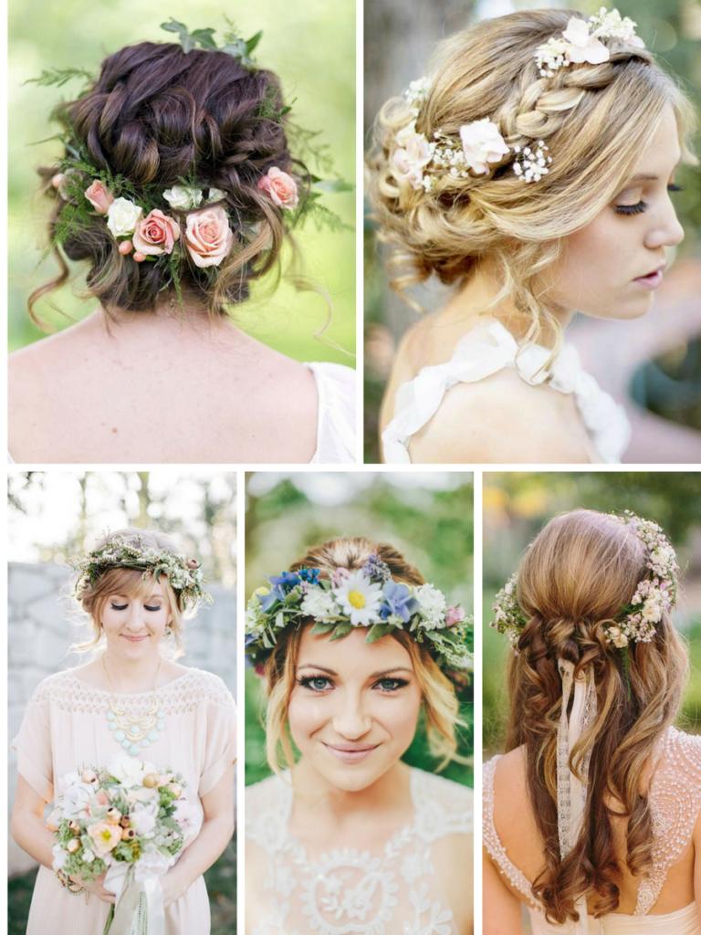 celtic inspired hairstyles   wedding ideas   bride