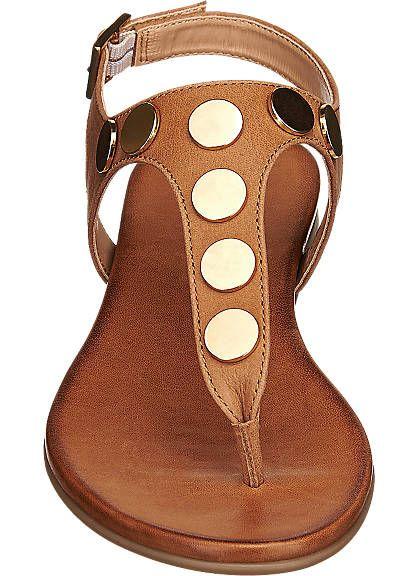 Sandale von 5th Avenue in cognac | Schuhe