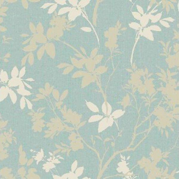 Eco Divine Motif Blue Wallpaper - Arthouse #Eco