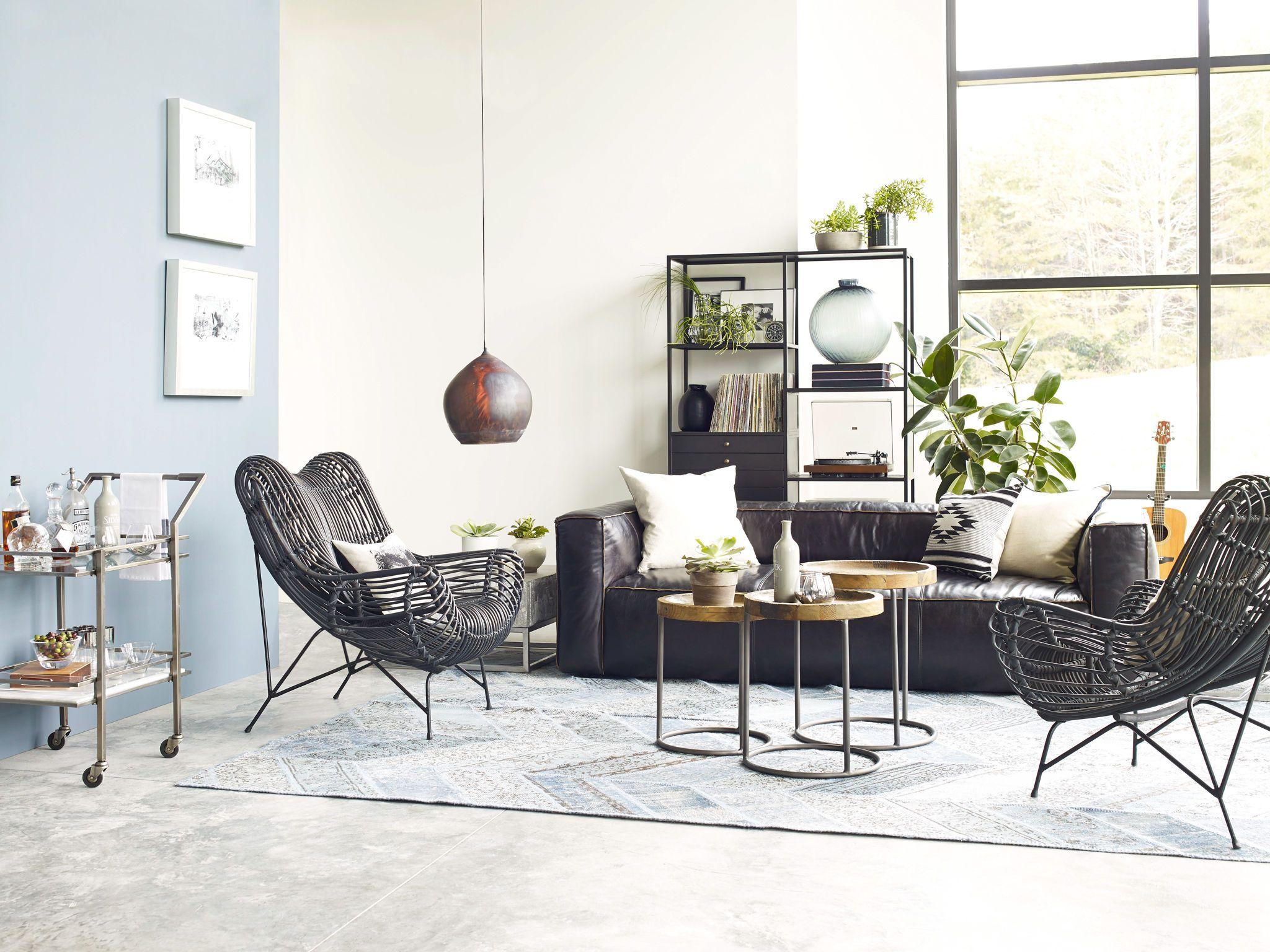 modern design hammock lounge living room plants | design | moodboard ...