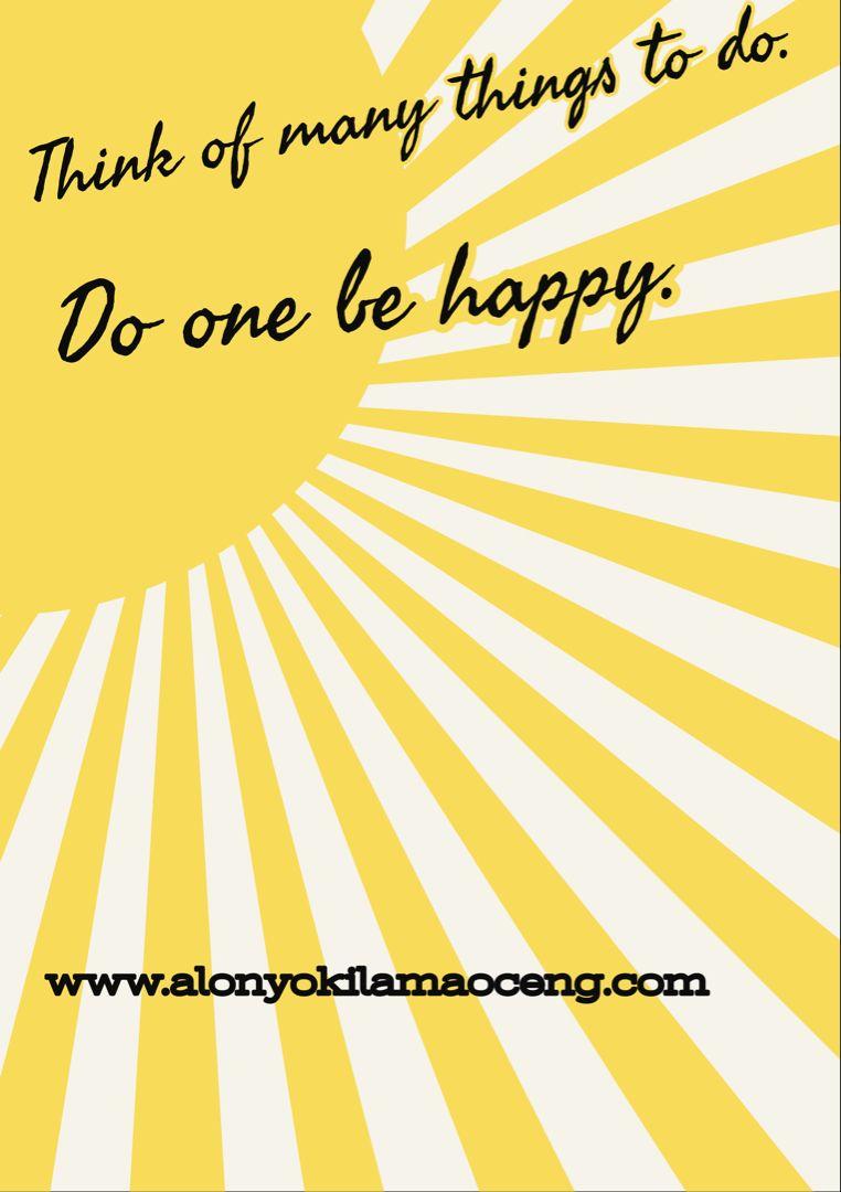 Be happy. #wellness #lifestyle #lifestyleblog #blog #alonyokilamaoceng