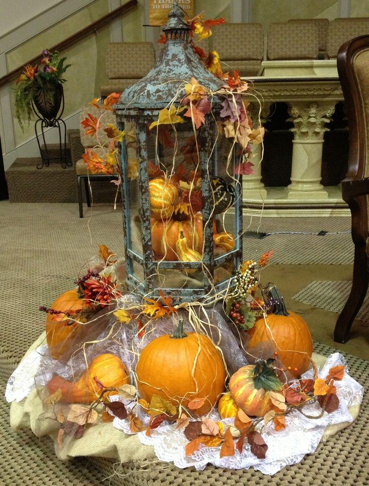 Shabby Chic fall Decor | Thanksgiving decor/shabby chic ...