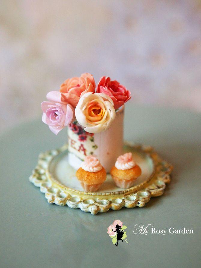 Cupcakes y flores♡ ♡