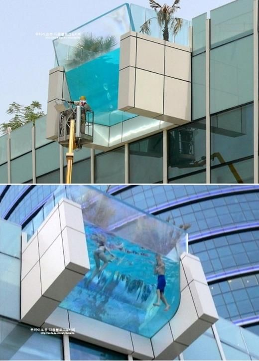 Cool swimming pool!!! Creative Ideas Smart Design Pinterest - indoor pool bauen traumhafte schwimmbaeder