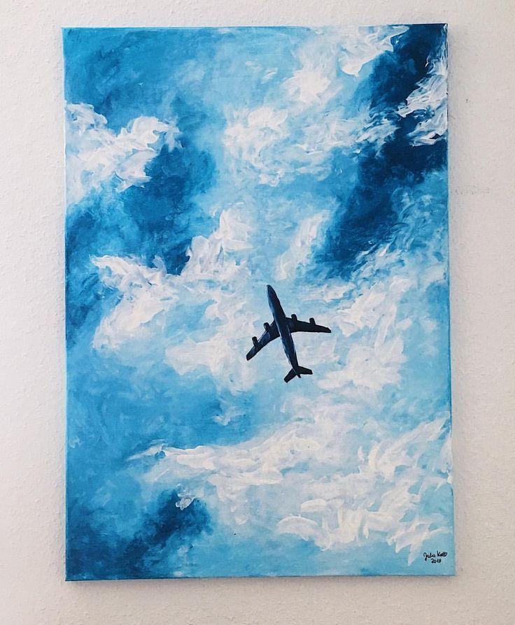 #plane #airplane #air #plane #drawing #acryl
