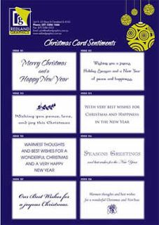 free christmas greeting card verses and sentiments - Christmas Card Sentiments