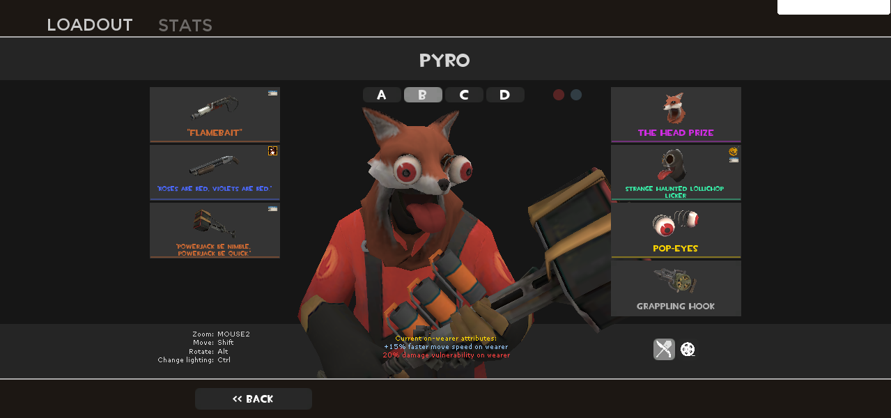 I finally got all the pieces for this loadout. #games