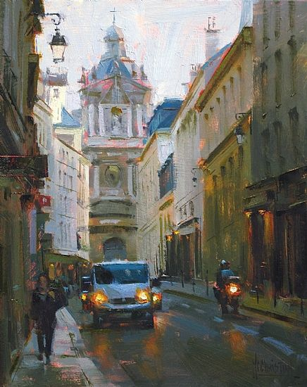Rue de Sevigne by Jennifer McChristian