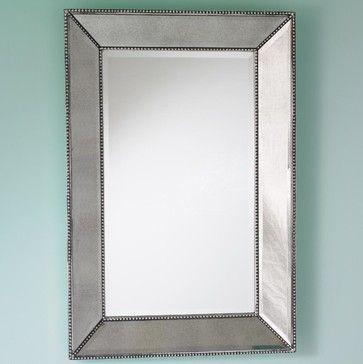 Beaded Frame Mirror Mirrors Spiegel Rahmen Badezimmerspiegel