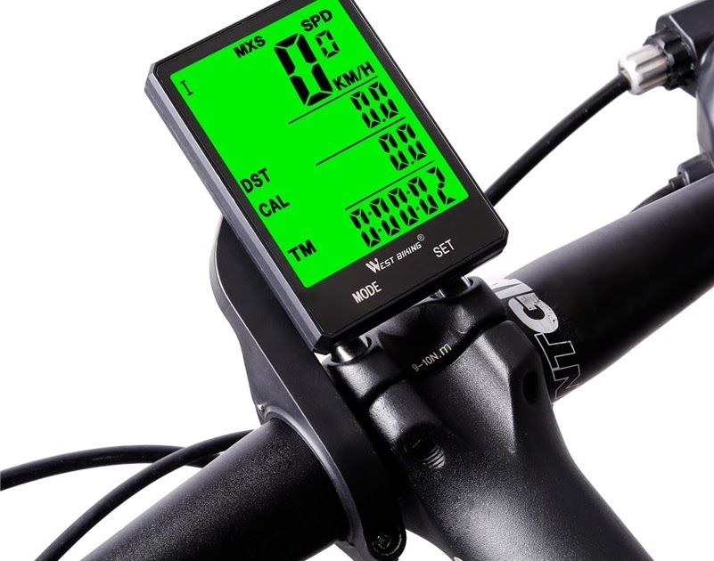 Promo Offer West Biking Cycling Speedometer 2 8 Large Screen