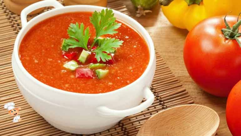 Суп Гаспачо Рецепт Приготовления В Домашних Условиях изоражения