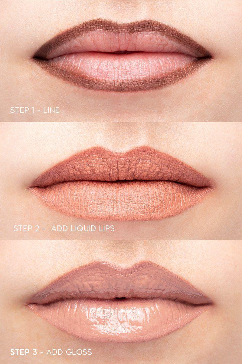 Bretman X Colourpop Wet Lip Bundle Lip Swatch On Fair Skin Wet