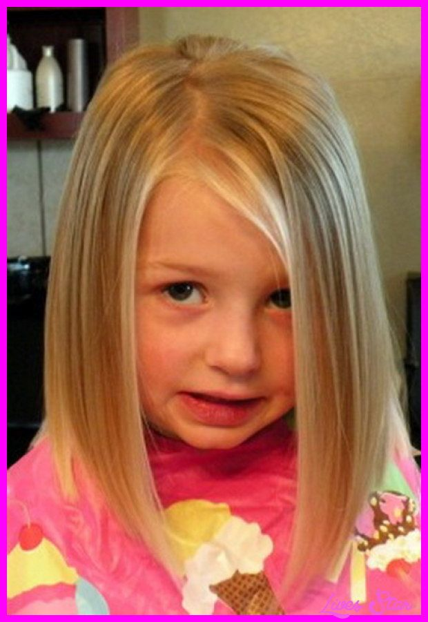 cool little girl shoulder length