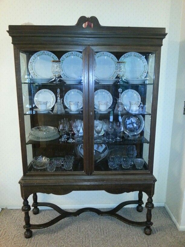 My 1907 Berkey & Gay Furniture Co. China Cabinet. Can anyone tell me how - My 1907 Berkey & Gay Furniture Co. China Cabinet. Can Anyone Tell