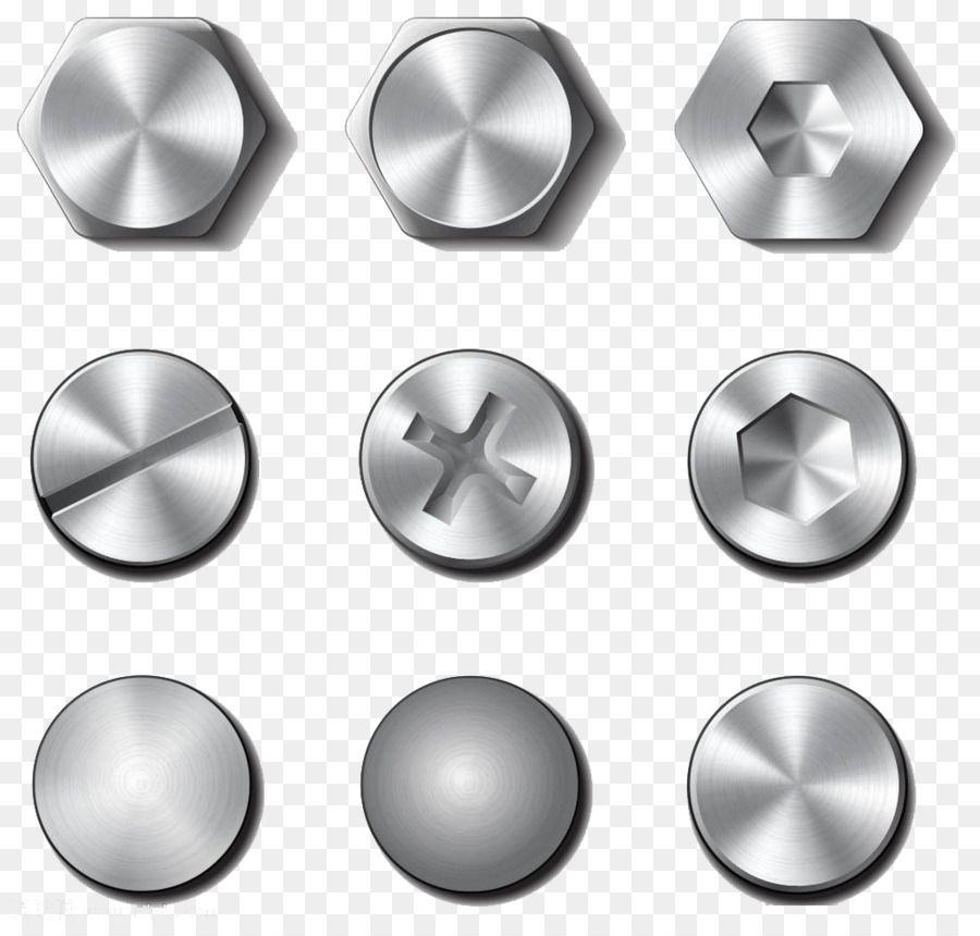 Screw Bolt Nut Rivet Stainless Steel Thumbtacks Png Is About Is About Hardware Accessory Material Metal Hardware Sphere Sc Desain Desain Logo Logo Keren