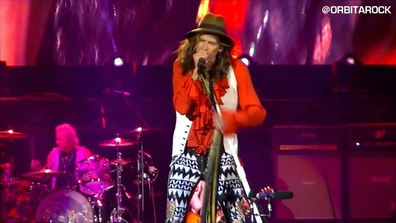 Aerosmith I Don T Want To Miss A Thing Bogota 29 09 2016
